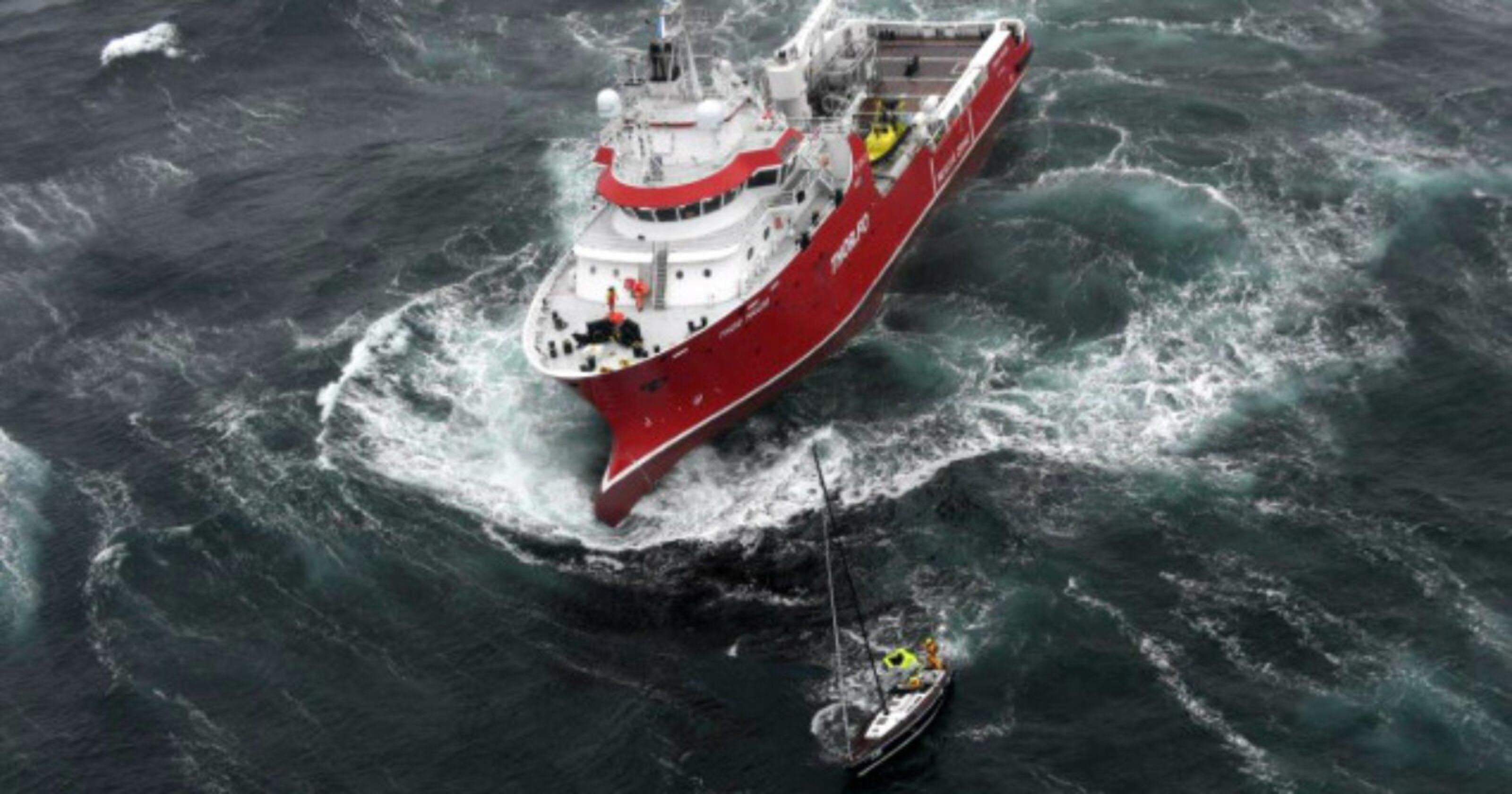Image for M/V Thor Magni, crewed by Horizon Maritime, assists in the rescue of 5 sailors